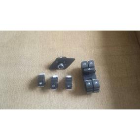 Kit De Interruptores Botões Cromados Vw Jetta Mk6 6.5