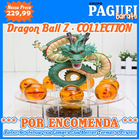 Kit Dragão Shenlong 7 Esferas Do Dragão Importado Encomenda