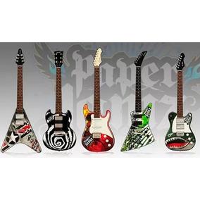 Guitarra Infantil Electrica Toyco Tactil Paper Jamz En Smile