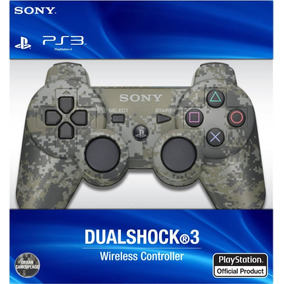 Joystick Ps3 Playstation 3 Sony Dualshock Camuflado Digital