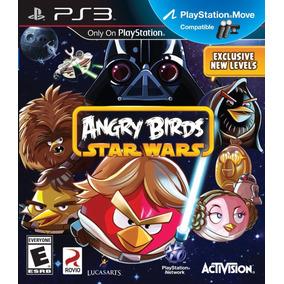 Angry Birds - Star Wars - Ps3 - Mídia Física - Lacrado - Nf
