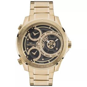 Relógio Technos Masculino Grande Classic Legacy 2035mla/4p
