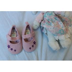 Zapatos De Niña Rosados 3-6meses, Nuevos- Epk, Carter