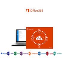 Office 365 / 5pc / Mac/ Tablet / Android / 1 Año / 1 Usuario