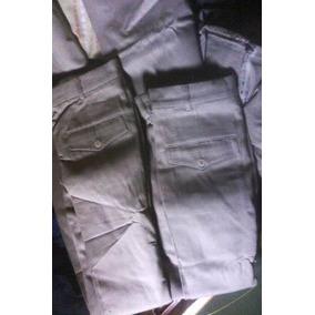 Pantalones De Vestir Color Beige