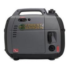 Generador Portátil Forest & Garden Gi 12200 2000w Monofásico Con Tecnología Inverter 230v
