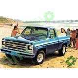 Manual Taller Servicio Chevrolet Silverado C10 1973-1987