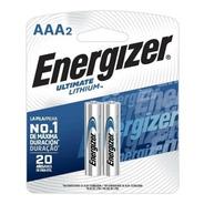 Pilas Energizer Aaa Larga Duracion Litium