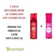 Liso Fácil Termo Ativado + Máscara Líquida - Fit Cosmetics