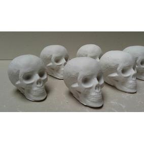 Calaca, Cráneo, Calavera De Yeso Para Pintar