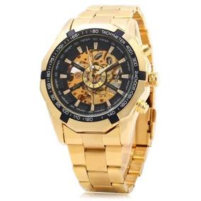 75ea8773d4e Relogio Mecanico Masculino Dourado - Joias e Relógios no Mercado ...