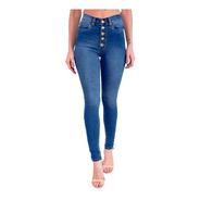 Calça Jeans Cigarrete Com Cinta Feminina Revanche Rainier