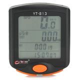 Velocímetro Electrónico Para Bicicleta 1.7 Lcd - Negro (1 X