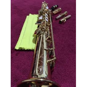 Saxofone Soprano (reto) Selmer Prelude Laqueado (dourado)