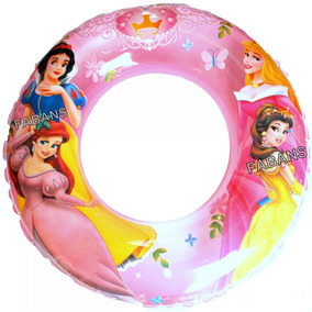 Flotador Salvidas Inflable Para Niñas Dona Juguete Princesa