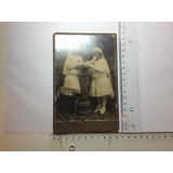 Fotografia Antiga Foto G. Ricchiuti 2 Meninas Cabinet / S P