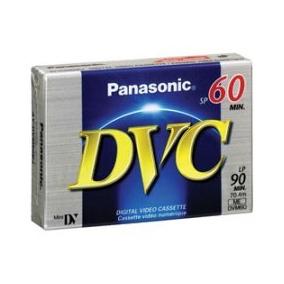 Panasonic Dvm60 Minidv Digital Video Cassette