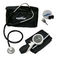 Kit Baumanometro Con Estetoscopio Medstar Platinum Edition