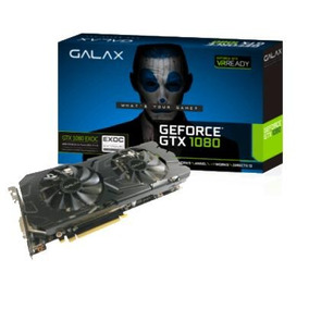 Placa De Vídeo Galax Geforce® Gtx 1080 Ex Oc 8gb Ddr5x 256