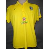 Camisa Polo Seleção Brasileira De Apresentação