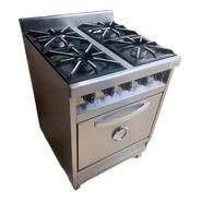 Cocina Industrial Rovesco Especial 4 Hornallas 60cm.