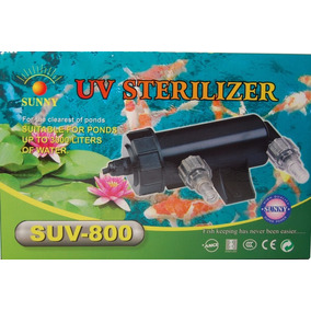 Filtro Uv 5w Estanques Acuarios Agua Dulce Y Salada Sunny