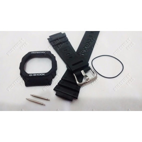 Kit Capa/pulseira+vedação Casio G-shock Dw-5600, 5200 Prata