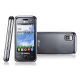 Celular Touch Lg Gm750 Preto Wifi Câmera 5mp Mp3