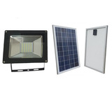 Lampara Solar Led 40 Leds Y Panel Solar 15w Con Fotocelda