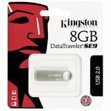 Mini Memoria Usb Kingston Dt Se9 8gb Metalica Windows Mac