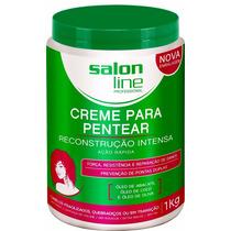 Creme Para Pentear Reconstrução Intensa Salon Line 1kg