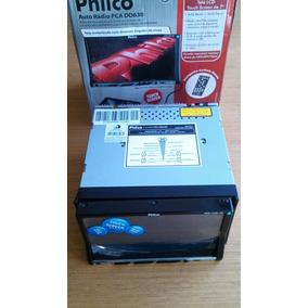 Dvd Player Double Din Philco Pca Dd630 - Display Trincado!!