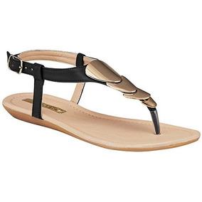 Sandalias Para Dama Clasben Negro D50957 Originales