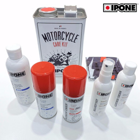 Kit Care Ipone Para Motos 5 Productos 1 Lata Devotobikes