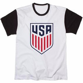 Camisa Camiseta Masculina Estampada Usa American Eua Barato