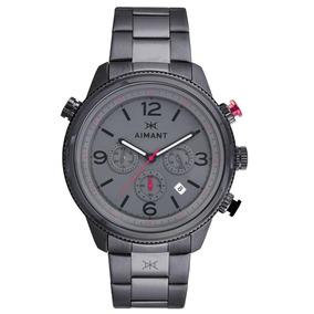 Relógio De Pulso Aimant Kotor - Gun Metal - Gko-200s8-88