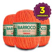 Barbante Barroco Maxcolor 400g N6 4707 Telha Kit 3