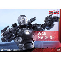 War Machine Civil War Mark 3 Hot Toys Guerra Civil Ironman
