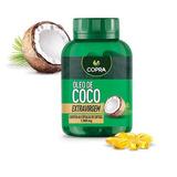 Capsulas Oleo De Coco Extra Virgem Copra 60 Caps 1000mg