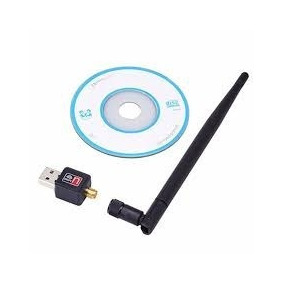 Adaptador Wireless Usb Sem Fio Antena Wifi 900mbps