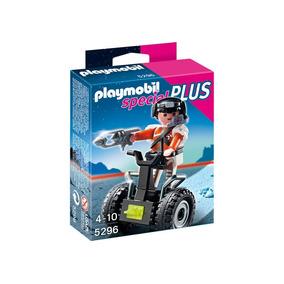 Playmobil 5296 Agente Especial Con Segway