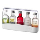 Kit Vodka Absolut Com 5 Miniatura 50ml