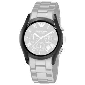 254bae5cbf6 Caixa Com Vidro Para Relógio Emporio Armani Ar1200. R  489