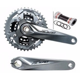 Pedivela Shimano Alivio Fc-m4050 Hollowtech Central Bb-52