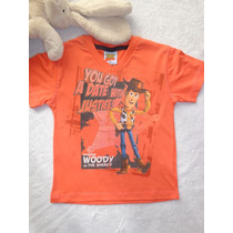 Camiseta Infantil Menino Decote V Toy Story Disney- Fakini