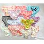 Calcinha Infantil Kit/c 60 Pçs Em Algodão Tamanho: P M G Gg