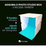 Estudio Fotográfico. Photo Studio Box, Com Led. Pop Up
