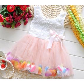 Vestido Niña Petalos Verano