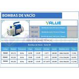 Bomba De Vacio Value Ve225n 70 Lts 2 Etapas 1/3 Hp
