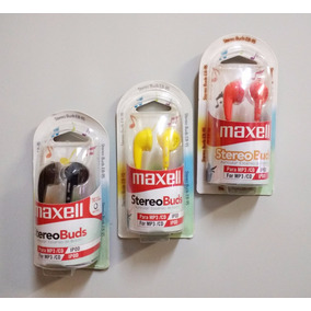 Combo Maxell Stereo Buds Eb 95 45 Unidades